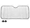 AMiO Forrudebeskytter Skive til køretøjsfront, Menge: 1, PE (polyethylen), Länge: 130cm, Breite: 60cm
