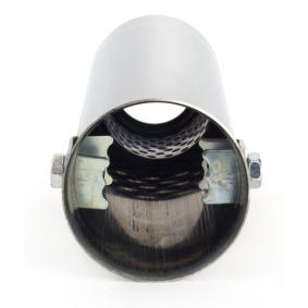 Deflector do tubo de escape 01302