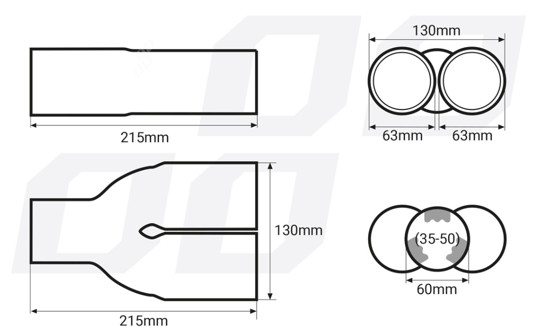 Exhaust Tip AMiO 01304 rating