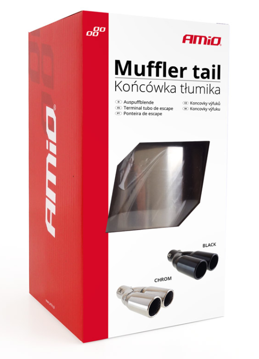 Tailpipe AMiO 01305 expert knowledge
