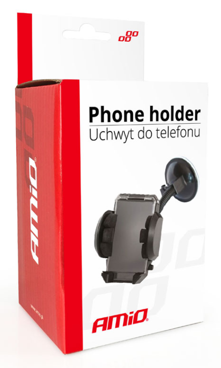 Mobile phone holders AMiO 01250 expert knowledge