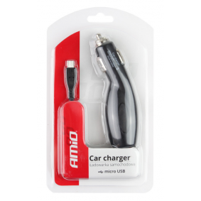 Car mobile phone charger Input Voltage: 12, 24V 01265