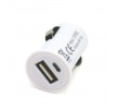 AMiO Chargeur voiture de téléphone mobile Nombre d'entrées/sorties: 1 USB, blanc