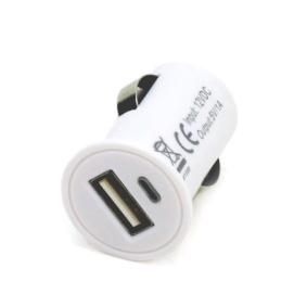 Car mobile phone charger Input Voltage: 12V, 24V 01703