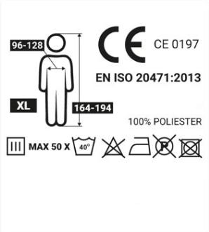 Reflexväst AMiO 01734 rating