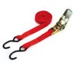 AMiO Hebebänder 25mm, mit Haken, Länge: 5m