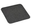 AMiO Tapete antiderrapante preto, PU (poliuretano), Comprimento: 19cm, Largura: 22cm