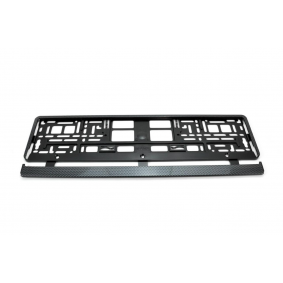 Number plate holder 01165