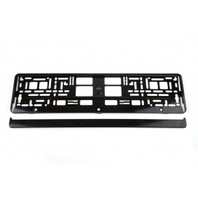 Licence plate holders 01644