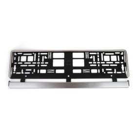 Number plate holder 01646
