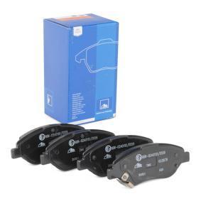 Bremsbelagsatz, Scheibenbremse Breite: 150,8mm, Höhe: 57,4mm, Dicke/Stärke: 19,5mm mit OEM-Nummer 7 736 855 3