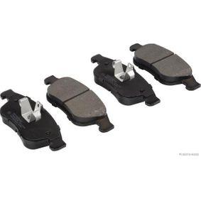 Bremsbelagsatz, Scheibenbremse Breite: 155,1mm, Höhe 1: 59,3mm, Höhe 2: 64,5mm, Dicke/Stärke: 18mm mit OEM-Nummer 8660004545