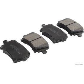 Bremsbelagsatz, Scheibenbremse Breite: 105,4mm, Höhe: 55,7mm, Dicke/Stärke: 17mm mit OEM-Nummer 1K0 698 451 H