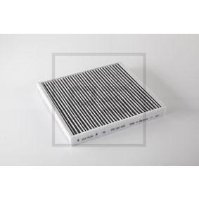 Filter, Innenraumluft Länge: 254mm, Breite: 235mm, Höhe: 32mm mit OEM-Nummer 65.61910.0001