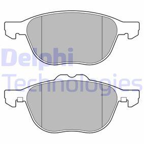 Bremsbelagsatz, Scheibenbremse Breite 1: 155mm, Breite 2: 155mm, Höhe 1: 62mm, Höhe 2: 67mm, Dicke/Stärke 1: 18mm mit OEM-Nummer 1797211