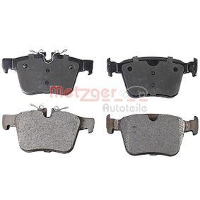 Brake Pad Set, disc brake Width: 122,4mm, Height 1: 56,3mm, Height 2: 59,8mm, Thickness: 16mm with OEM Number LR090707