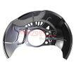 OEM Splash Panel, brake disc METZGER 16179043 for LEXUS