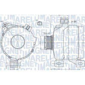Lichtmaschine mit OEM-Nummer 3 077 311 1