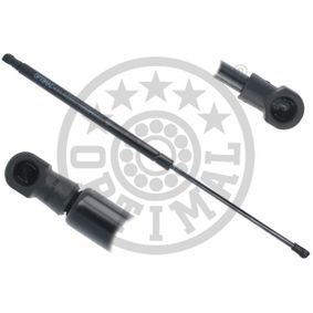 Gas Spring, boot- / cargo area Length: 517,5mm, Stroke: 198mm, Length: 517,5mm with OEM Number 9045 0JD 01B