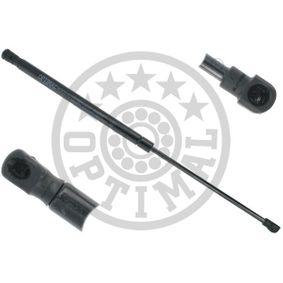 Heckklappendämpfer / Gasfeder Länge: 500mm, Hub: 205mm, Länge: 500mm mit OEM-Nummer 6Q6 827 550D