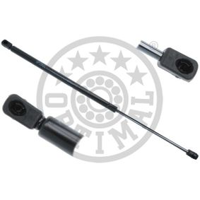 Heckklappendämpfer / Gasfeder Länge: 596mm, Hub: 187mm, Länge: 596mm mit OEM-Nummer 51248230070