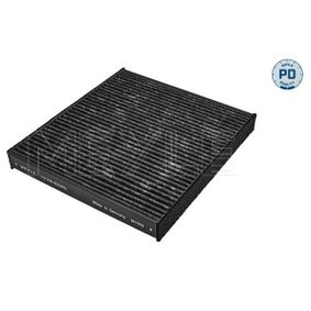 Filter, Innenraumluft Breite: 234mm, Höhe: 30mm mit OEM-Nummer 5Q0819669