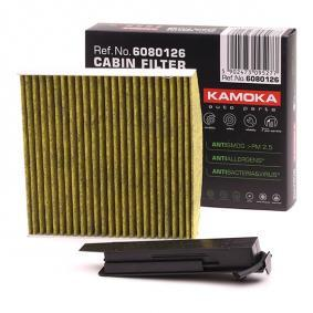Filter, interior air Height: 43mm with OEM Number 77 01 059 997