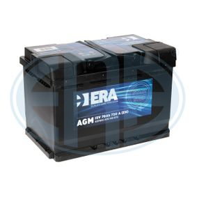 Starterbatterie mit OEM-Nummer 570901076 ERA
