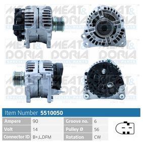 Lichtmaschine mit OEM-Nummer 038903024A