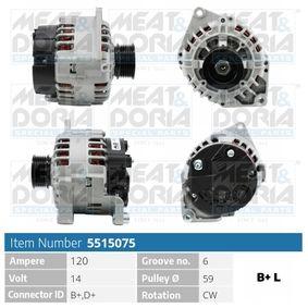 Lichtmaschine mit OEM-Nummer 5702C0