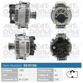 Lichtmaschine mit OEM-Nummer 0141540702