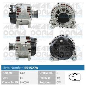 Lichtmaschine mit OEM-Nummer 1 11549302