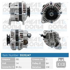 Alternatore con OEM Numero A 3 T B0771