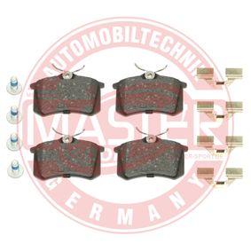 Bremsbelagsatz, Scheibenbremse Breite: 87,6mm, Höhe: 52,9mm, Dicke/Stärke: 17mm mit OEM-Nummer 44 06 057 13R
