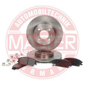 Bremsensatz, Scheibenbremse Bremsscheibendicke: 19mm mit OEM-Nummer 58101 1CA10