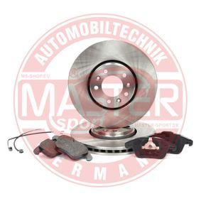 Brake Set, disc brakes Ø: 304mm, Brake Disc Thickness: 28mm with OEM Number SU001 A1 064