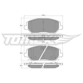 Brake Pad Set, disc brake Article № TX 19-59 £ 140,00