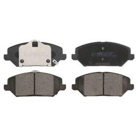 Brake Pad Set, disc brake Article № C10538ABE £ 140,00