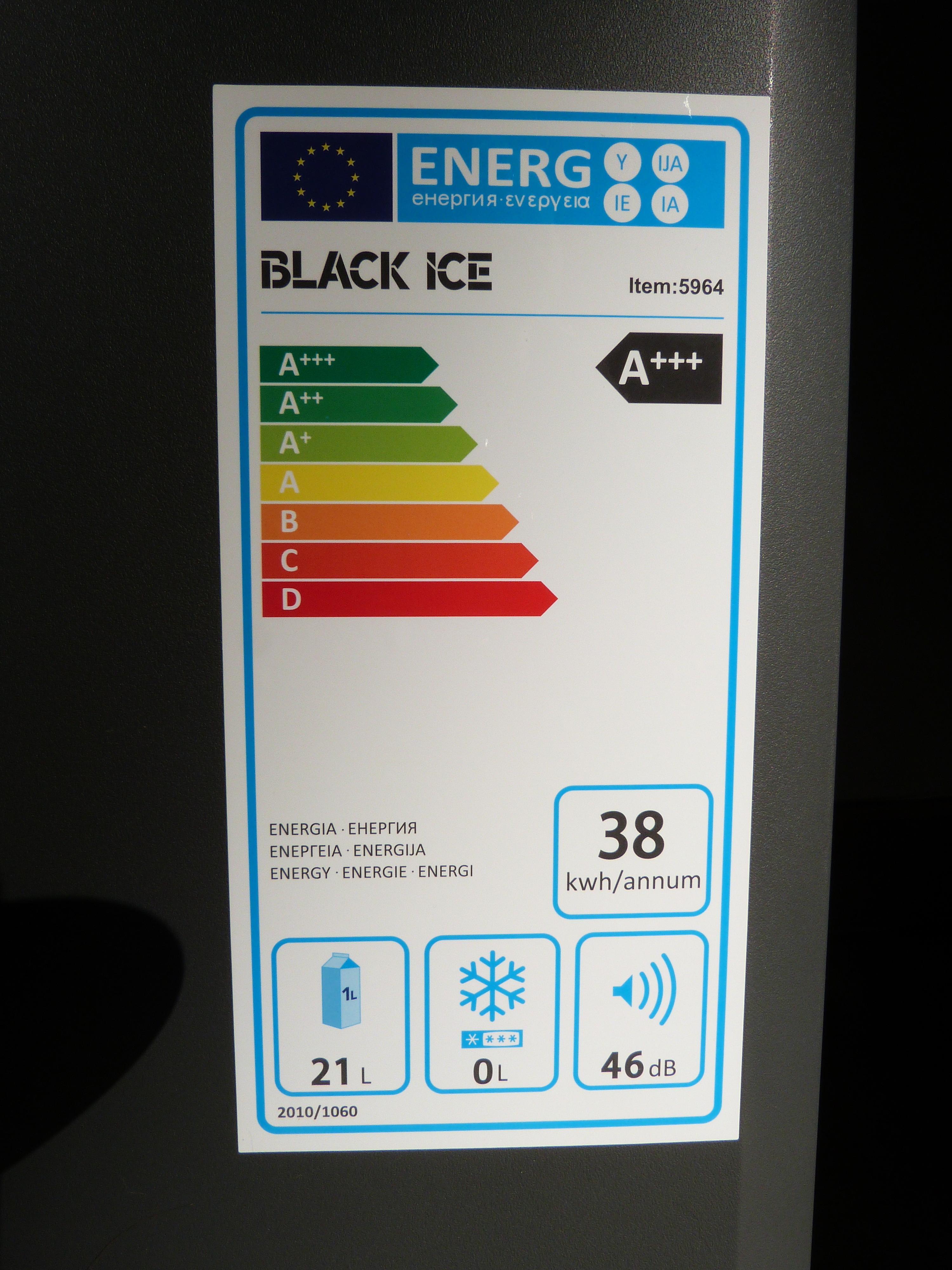 Geleira para o automóvel BLACK ICE 5964 3701392959644