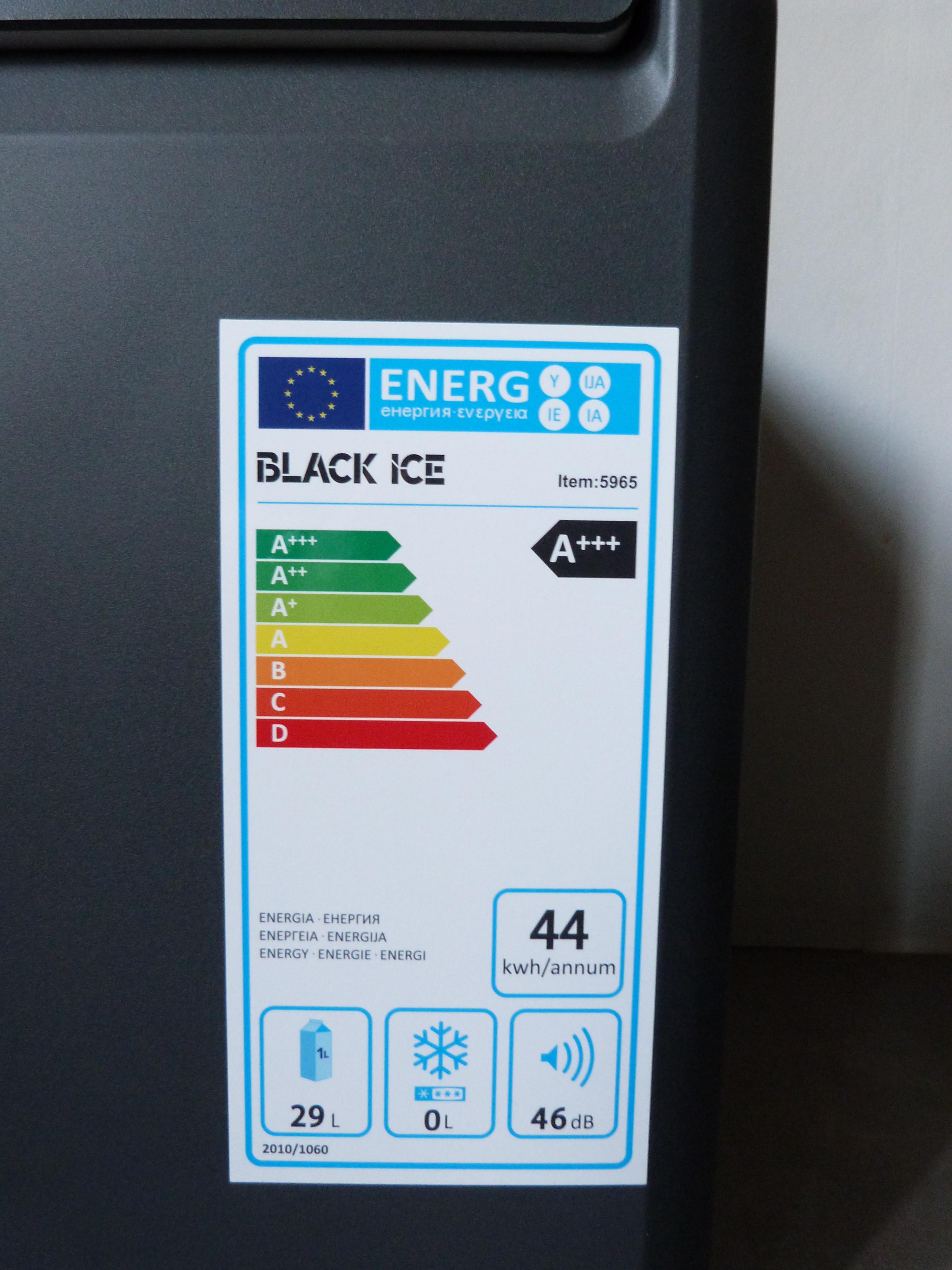 Glacière BLACK ICE 5965 connaissances d'experts