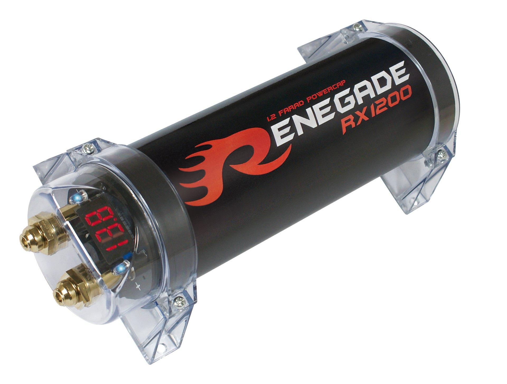 RENEGADE  RX1200 Condensatore impianto audio