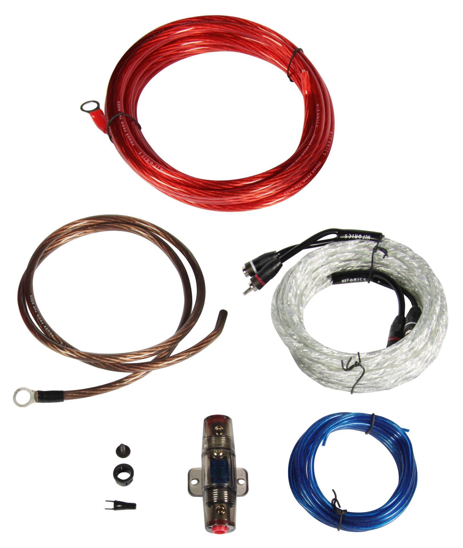 Kit de instalación para amplificador HF10WK-ECO HIFONICS HF10WK-ECO en calidad original