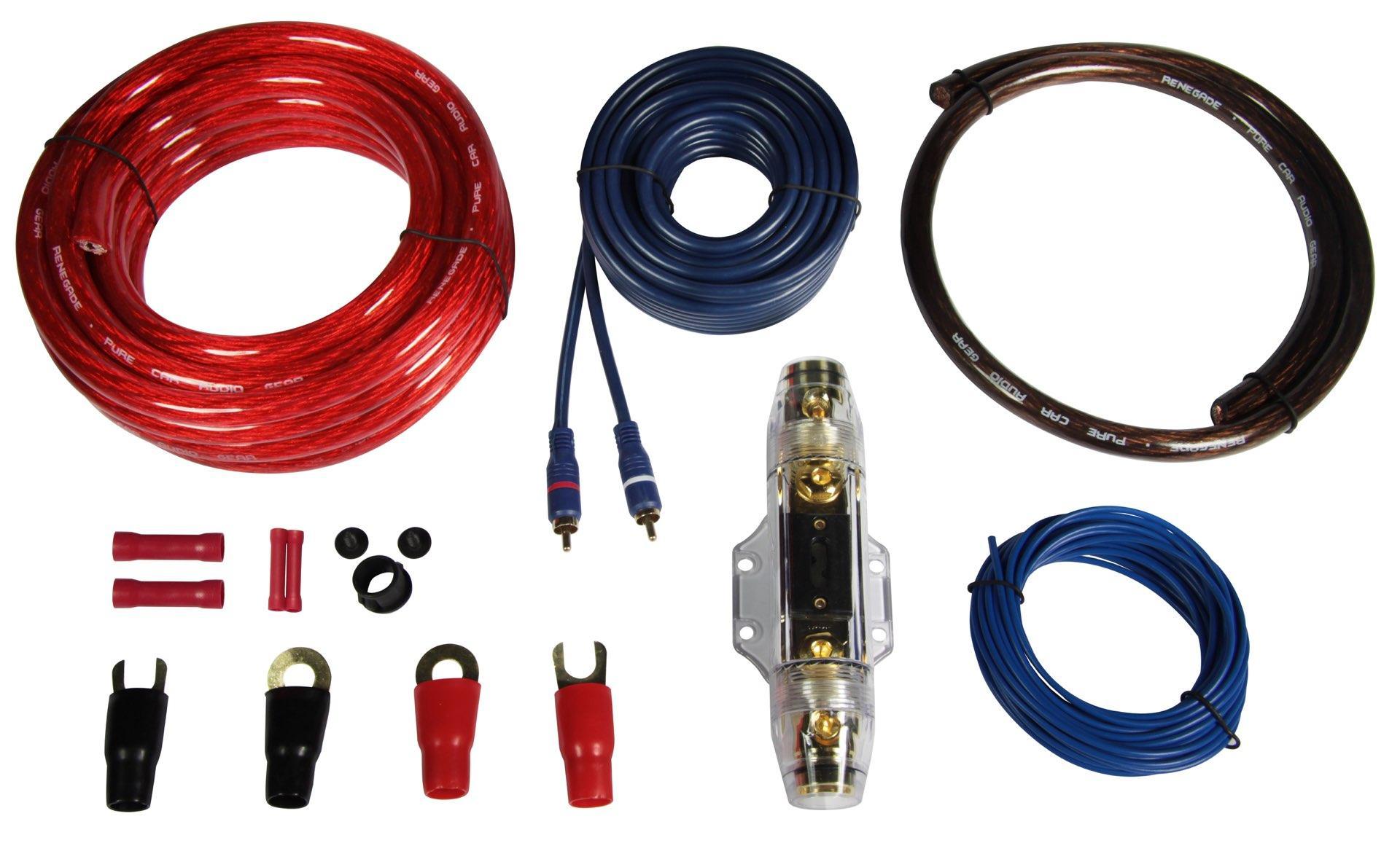 Кабели за усилвател REN35KIT RENEGADE REN35KIT в оригиналното качество