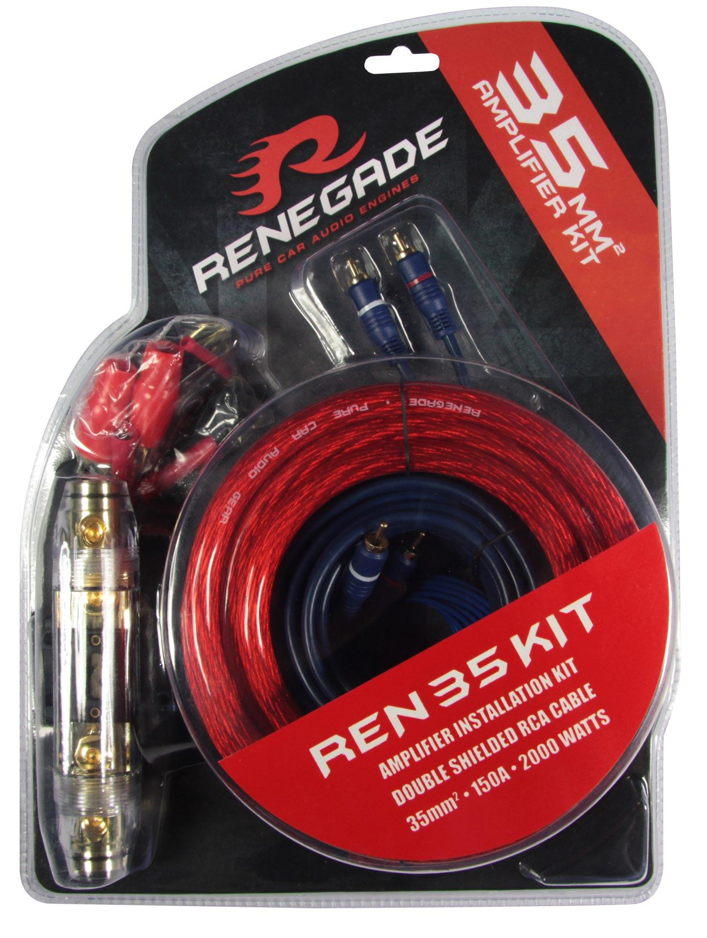 Кабели за усилвател RENEGADE REN35KIT оценка