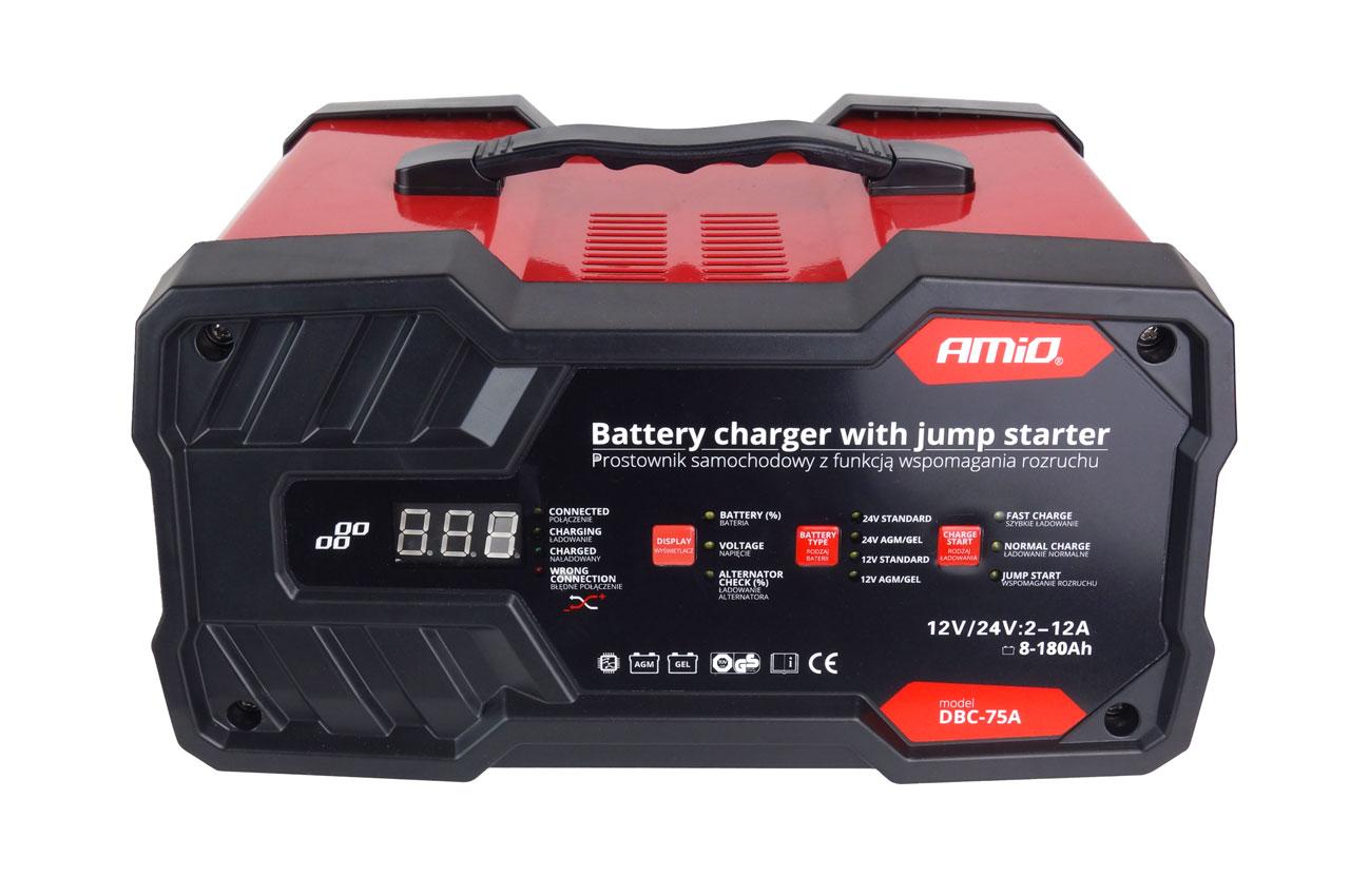 Batterieladegerät AMiO 02400 Erfahrung