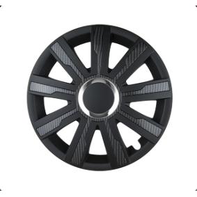 LEOPLAST Wheel trims MIRAGE CARBON 17