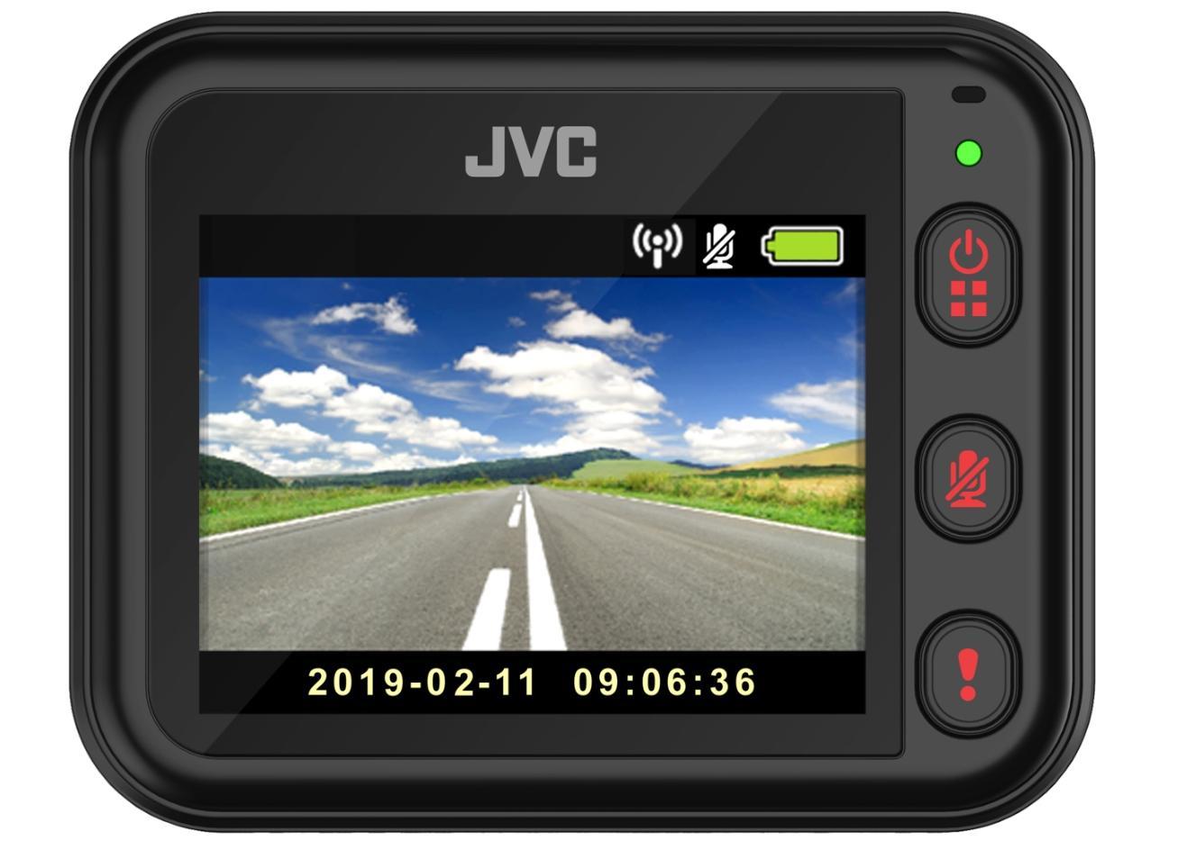 Dashcam JVC GC-DRE10-S évaluation