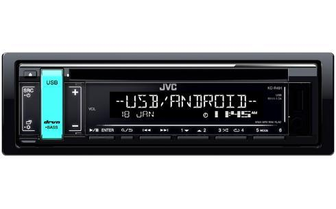 auto radio JVC KD-R491 Bewertung