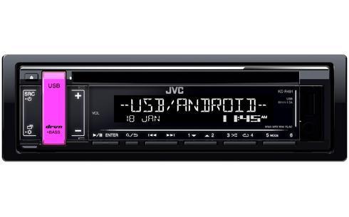 radio JVC KD-R491 4975769449505