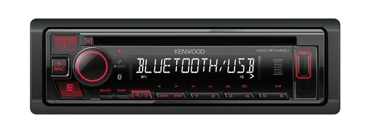 auto radio KENWOOD KDC-BT440U Bewertung